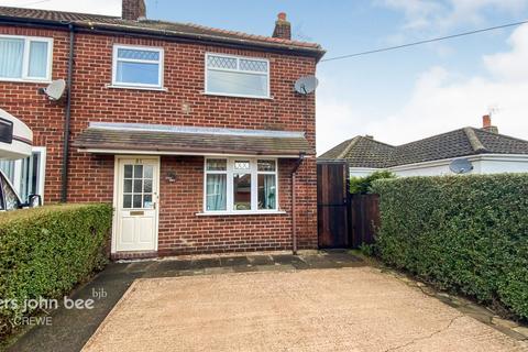 2 bedroom end of terrace house for sale - Evans Street, Crewe