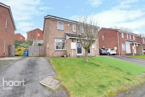 2 bedroom semi-detached house for sale - Keyhaven Close, Derby