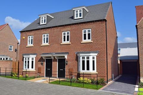 3 bedroom end of terrace house for sale - Plot 291, Kennett at Wigston Meadows, Newton Lane, Wigston LE18