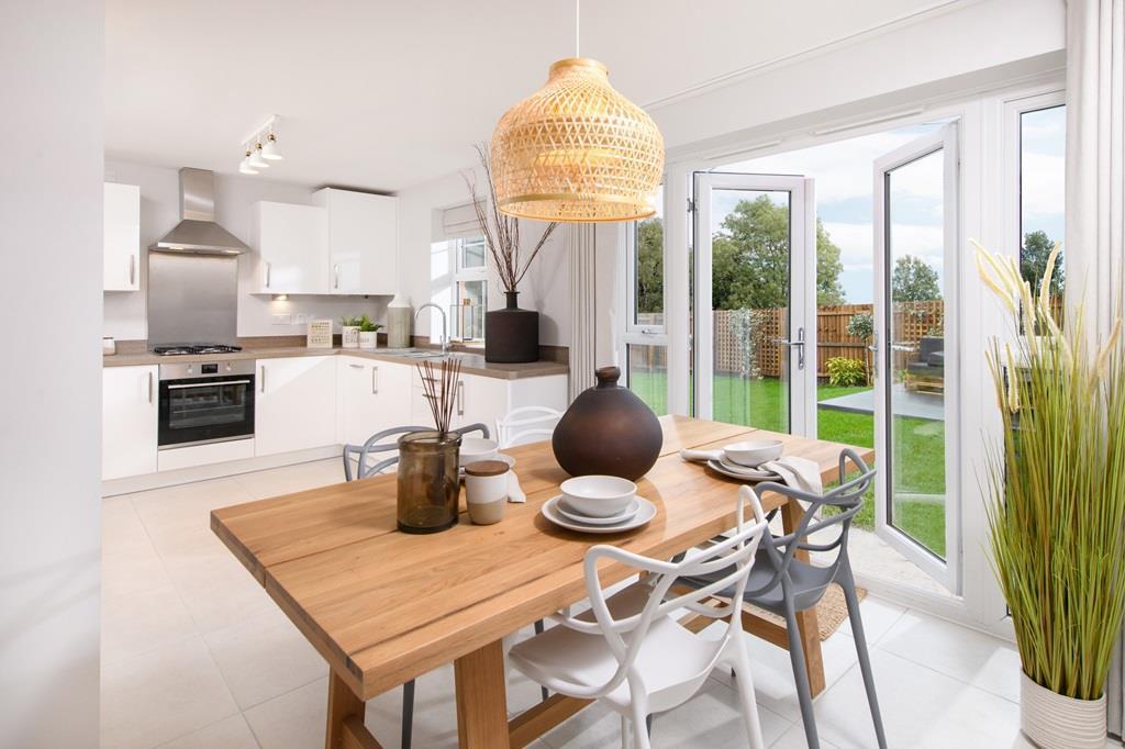 Kingsley open plan kitchen/dining room