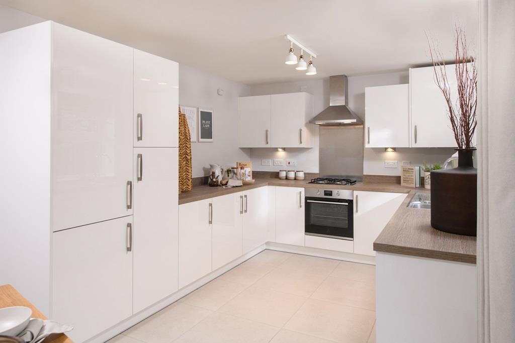 Kingsley open plan kitchen