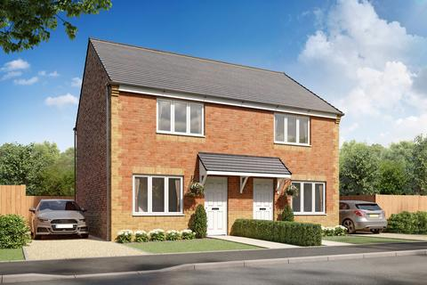 2 bedroom semi-detached house for sale - Plot 093, Cork at Springfield Meadows, Woodhouse Lane, Bolsover, Chesterfield S44
