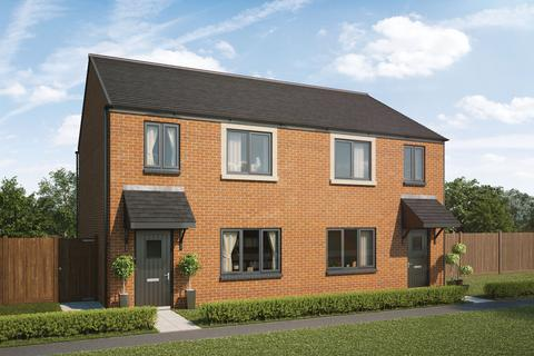 3 bedroom semi-detached house for sale - Plot 246, The Cherry at Ottermead at Jameson Manor, Off North Road, Ponteland NE20