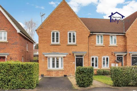 3 bedroom end of terrace house for sale - Hudson Way, Grantham NG31