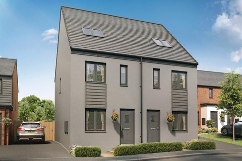 3 bedroom semi-detached house for sale - Plot 784, The Bickleigh at St Edeyrns Village, The Foxborough, Church Road, Old St. Mellons CF3