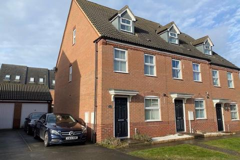 3 bedroom end of terrace house for sale - Siskin Close, Corby