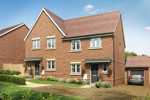 3 bedroom semi-detached house for sale - Plot 80, The Eveleigh at Minerva Heights, Old Broyle Road, Chichester, West Sussex PO19