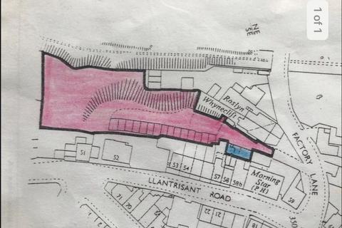 Land for sale - Factory Lane, Graig, Pontypridd, CF37 1LH