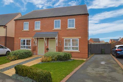 3 bedroom semi-detached house for sale - Wright Close, Whetstone, Leicestershire, LE8 6QZ