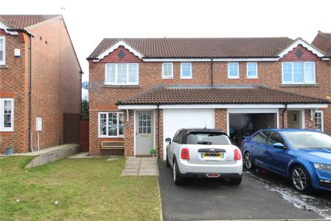 3 bedroom semi-detached house for sale - Temple Forge Mews, Consett, County Durham, DH8