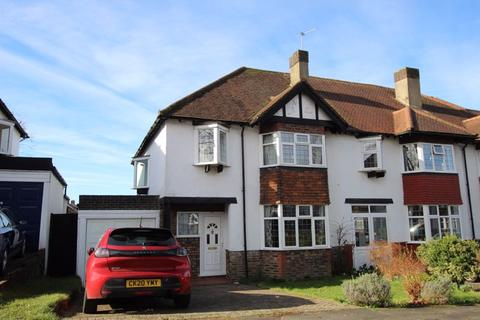 3 bedroom semi-detached house to rent - Glenfield Road, Banstead