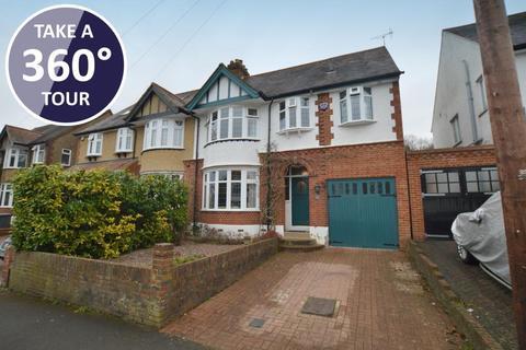 4 bedroom semi-detached house for sale - Elmwood Crescent, Old Bedford Road Area, Luton, Bedfordshire, LU2 7HY