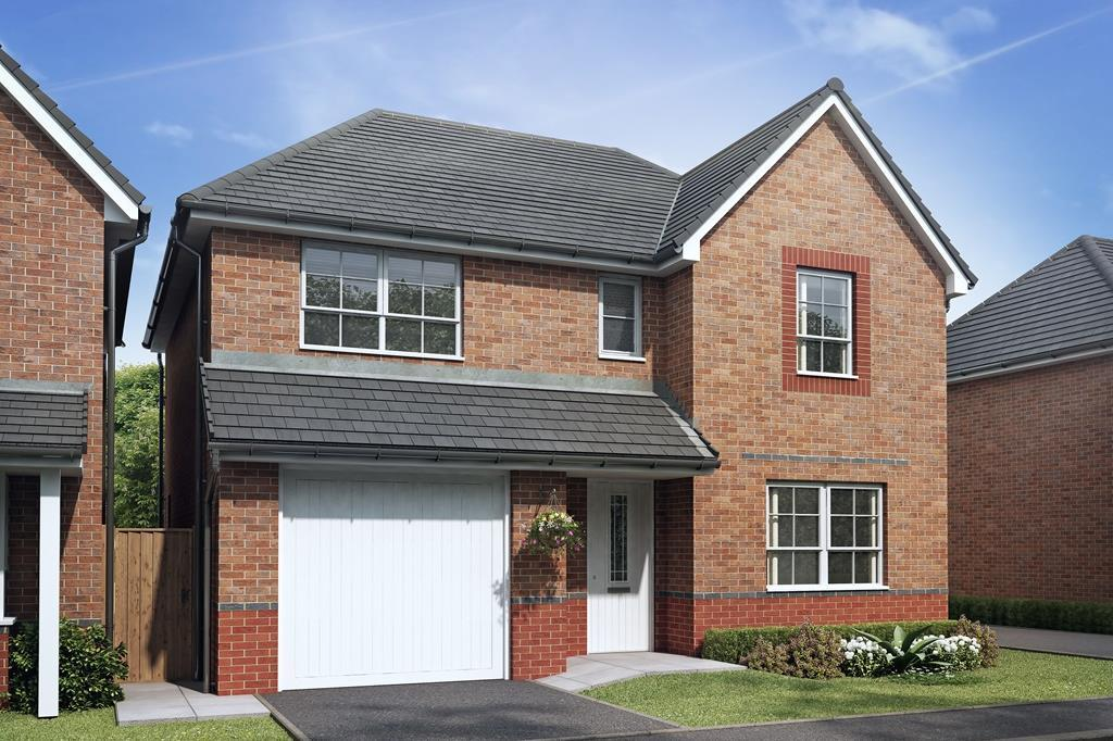 4 bedroom home Hemsworth exterior outside view