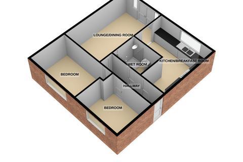 2 bedroom semi-detached bungalow for sale - Eaton Park STOKE-ON-TRENT ST2 9NB