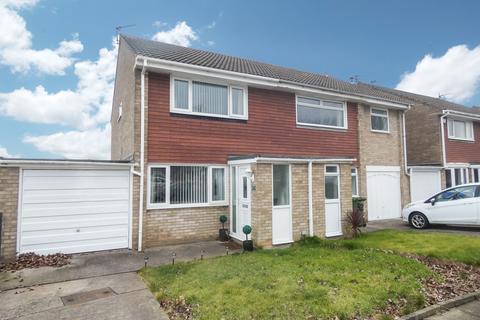 2 bedroom semi-detached house for sale - Ashford Close, South Beach , Blyth, Northumberland, NE24 3TJ