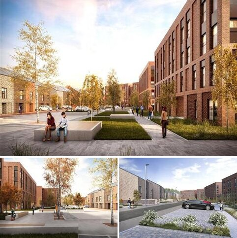 1 bedroom flat for sale - Plot 38,  Prince's Quay, Pacific Drive, Glasgow, G51