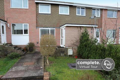 3 bedroom terraced house for sale - Higher Budleigh Meadow, Newton Abbot