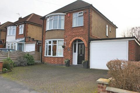 3 bedroom detached house for sale - Mere Road, Wigston, Leicester