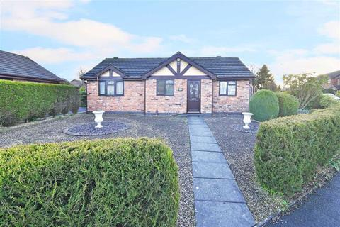 2 bedroom detached bungalow for sale - The Willows, Leek