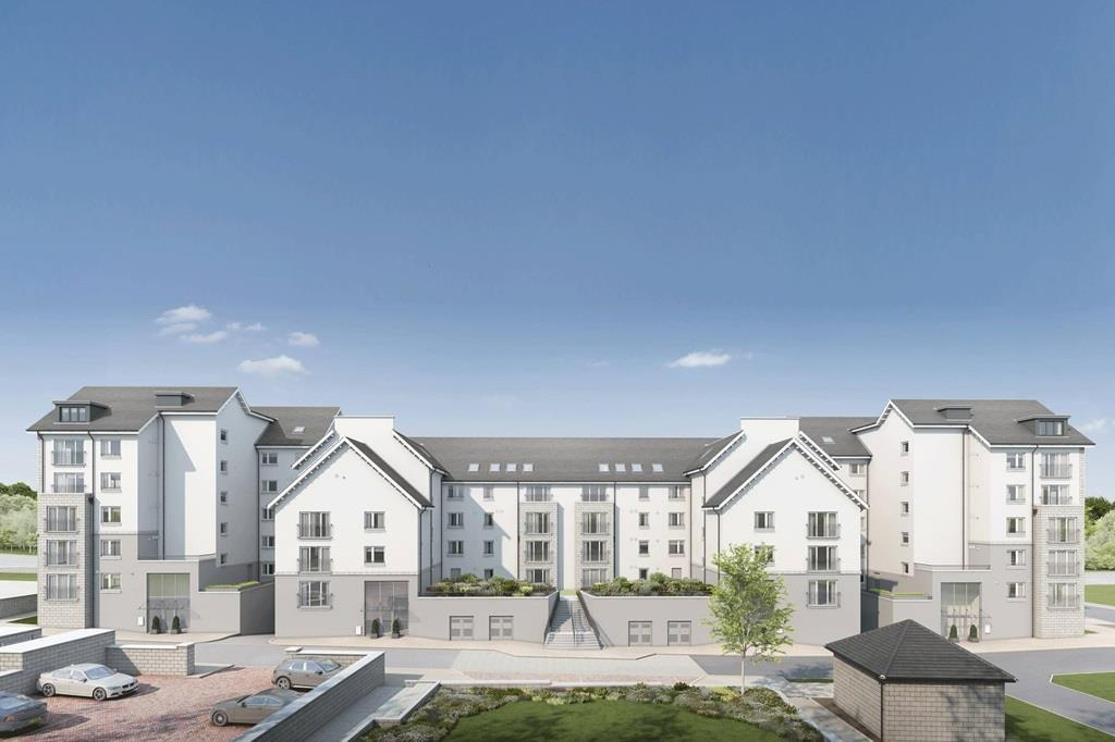 H6177 Westburn Gardens CGI Royal Cornhill Apartments
