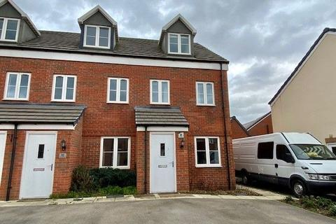 3 bedroom end of terrace house for sale - Lee Road, Harlestone Manor, Northampton NN5 6WP