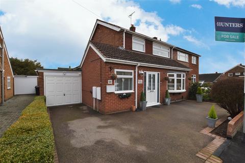 3 bedroom semi-detached house for sale - Halcroft Rise, Wigston, LE18 2HS