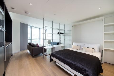 Studio to rent - Charrington Tower, Biscayne Avenue, Canary Wharf E14