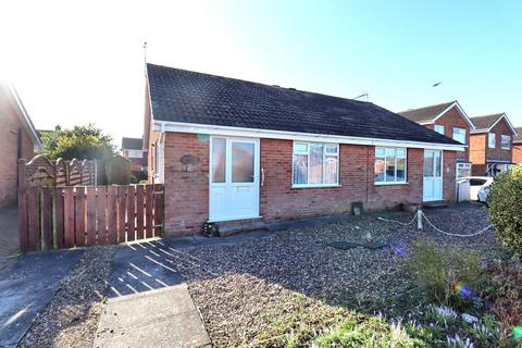 2 bedroom semi-detached bungalow for sale - Trentham Close, Bridlington
