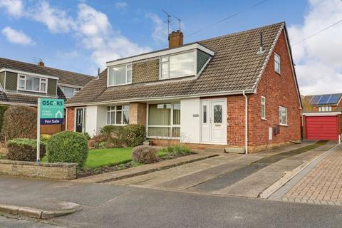 3 bedroom semi-detached bungalow for sale - Townshend Drive, Cottingham