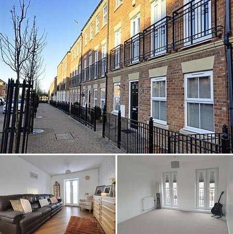 3 bedroom townhouse for sale - Brass Thill Way, South Shields, Tyne And Wear