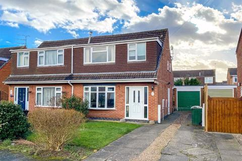 3 bedroom semi-detached house for sale - Barrett Drive, Loughborough, LE11