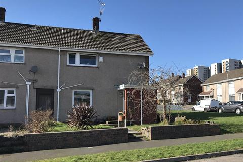 2 bedroom end of terrace house for sale - Heather Crescent, Sketty, Swansea