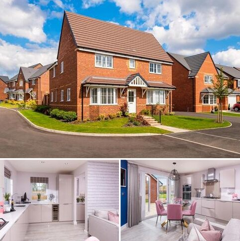 4 bedroom detached house for sale - Plot 9, Alnmouth at Lyveden Fields, Livingstone Road, Corby, CORBY NN18
