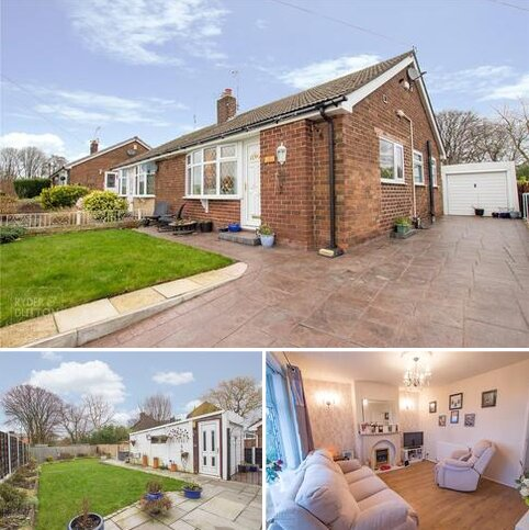 2 bedroom semi-detached bungalow for sale - Clive Road, Failsworth, Manchester, Greater Manchester, M35