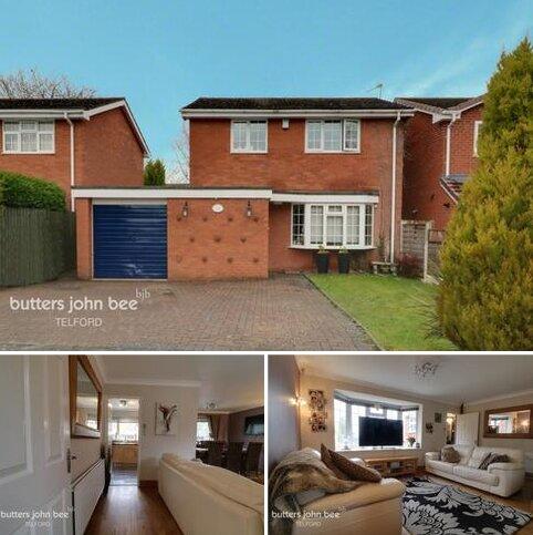 3 bedroom detached house for sale - St James Crescent, Telford