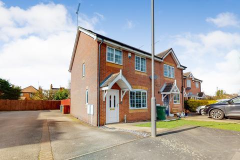 2 bedroom end of terrace house for sale - Eaton Close,Hatton,Derby,DE65 5ED