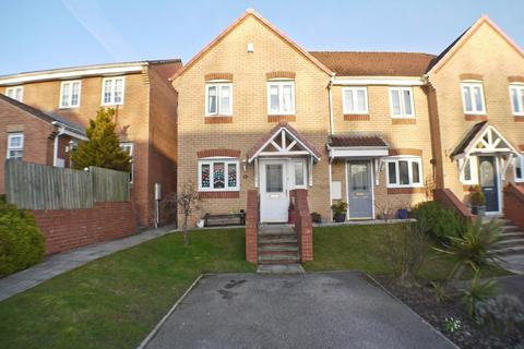 3 bedroom end of terrace house for sale - Langdon Close, Consett, DH8