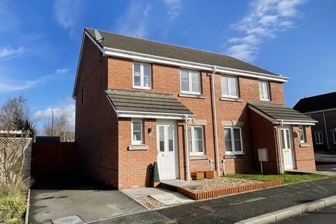 3 bedroom semi-detached house for sale - Chestnut Bush Broadlands Bridgend CF31 5FG