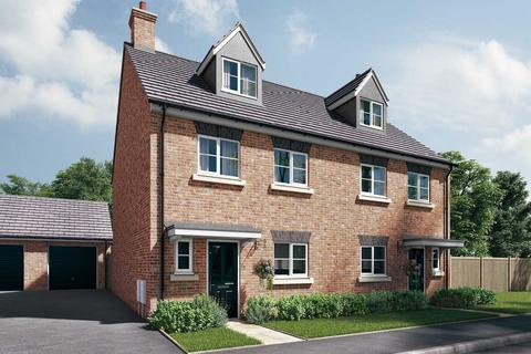 4 bedroom semi-detached house for sale - Plot 24, The Aslin at Spinnaker, Station Approach, Westbury, Wiltshire BA13