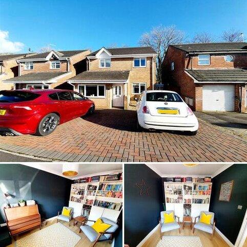 3 bedroom detached house for sale - Elm Crescent, Parc Penllergaer Penllergaer, Swansea