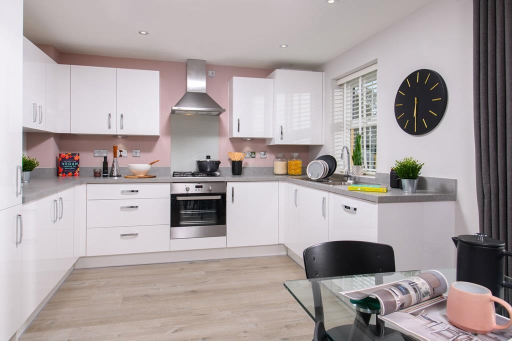 The Archford Show Home kitchen diner