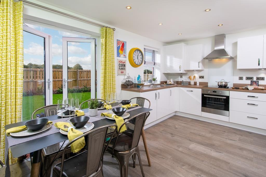 Archford Show Home kitchen dining area