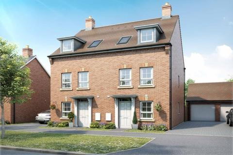 3 bedroom semi-detached house for sale - Plot 75, Padstow at Orchard Green @ Kingsbrook, Aylesbury Road, Bierton HP22