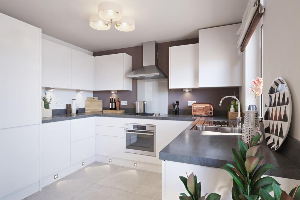 Kitchen in the Ellerton home