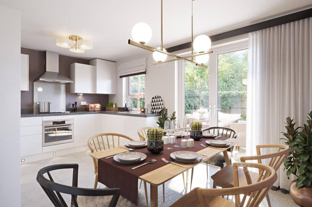Interior view 3 bed Ellerton kitchen/dining