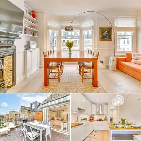 3 bedroom flat for sale - Queensmill Road, London, SW6