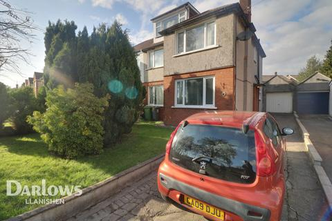 4 bedroom semi-detached house for sale - Heol Llanishen Fach, Cardiff