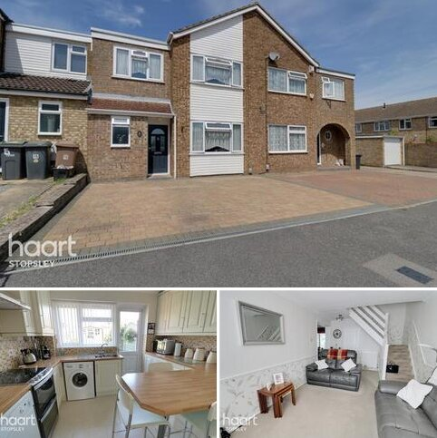 3 bedroom terraced house for sale - Roedean Close, Luton