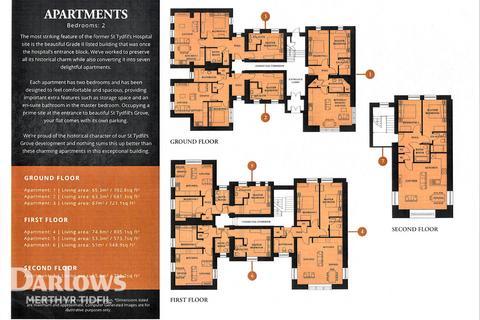 2 bedroom apartment for sale - St. Tydfil's Grove, Merthyr Tydfil