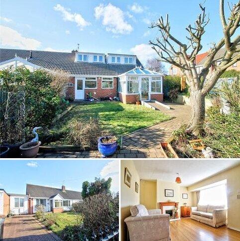 3 bedroom semi-detached bungalow for sale - Leander Avenue, Chester le Street, County Durham, DH3